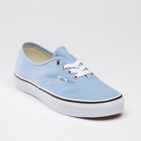 Vans Shoes | Classic Canvas Light Blue